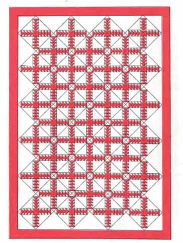 Crown of Thorns Quilt Pattern