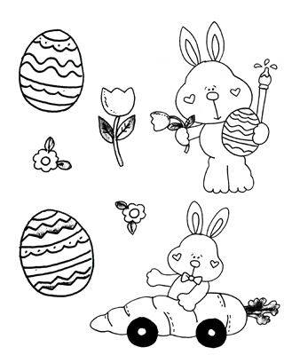 Easter Capers Clipart