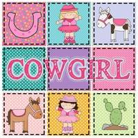 Little Cowgirls Pattern