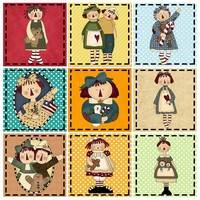 Raggedy Annies Pattern