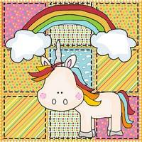 Rainbow Unicorn Pattern
